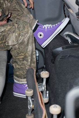 Chuck Taylor Pro Hi Electric Purple