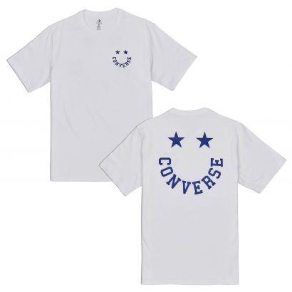 CONVERSE HAPPY FACE GRAPHIC TEE