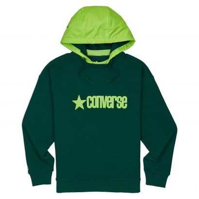 CONVERSE REMOVEABLE HOODED CREW