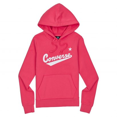 CONVERSE WOMENS CENTER FRONT NOVA HOODIE